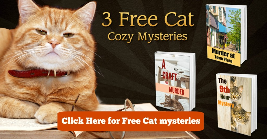 free cat mysteries banner with button